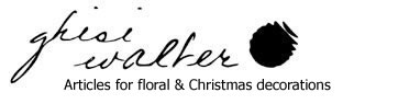 Ghisi Walter: Articles for decoration, floral arrangements and Christmas compositions